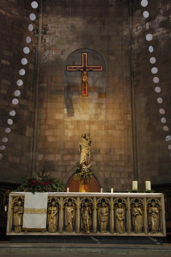 Altar major de la Basílica de Santa Maria del Pi