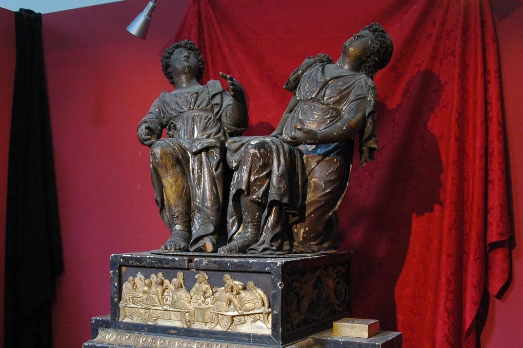 Àngel Tort de l'exposició de Santa Maria del Pi