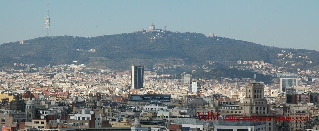 Barcelona des de la Basílica de Santa Maria del Pi