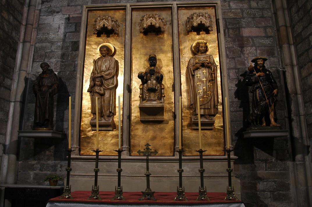 Capella de la Mare de Déu de Montserrat de la Basílica de Santa Maria del Pi