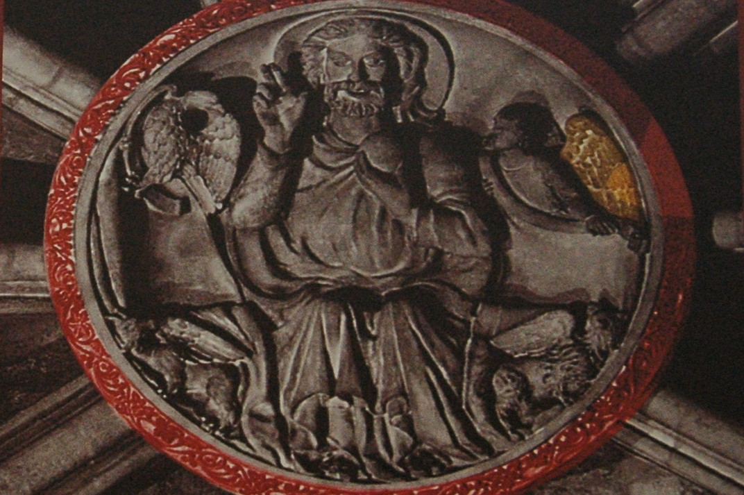 Clau de volta del presbiteri de Santa Maria del Pi