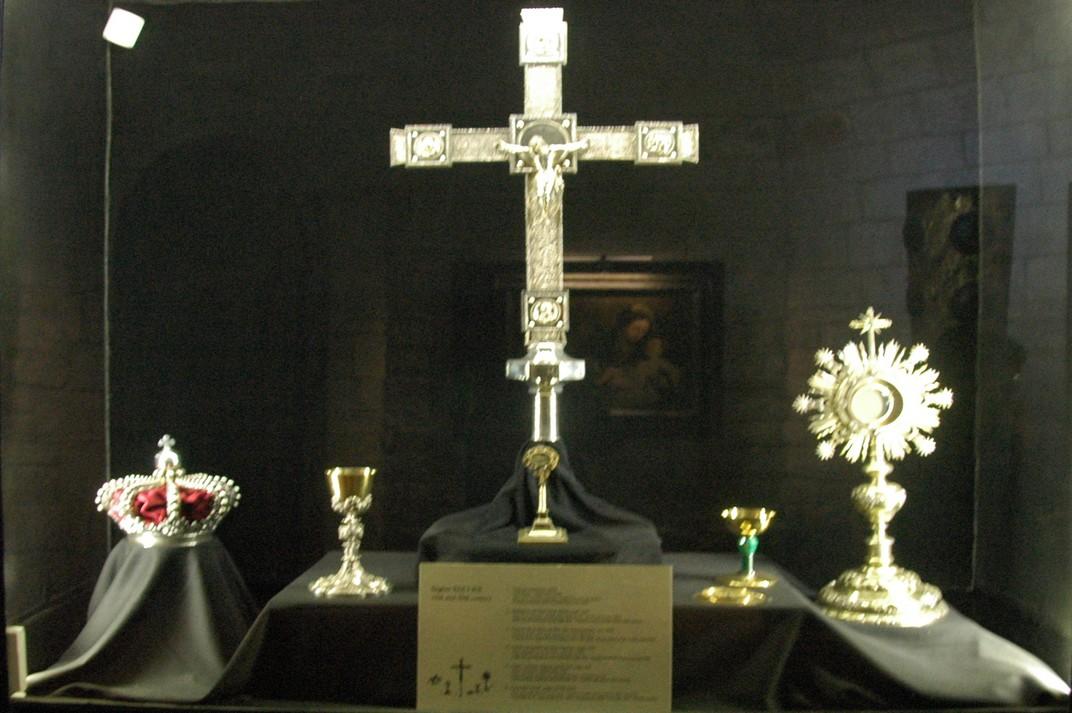 Crist crucificat del tresor de la Basílica de Santa Maria del Pi