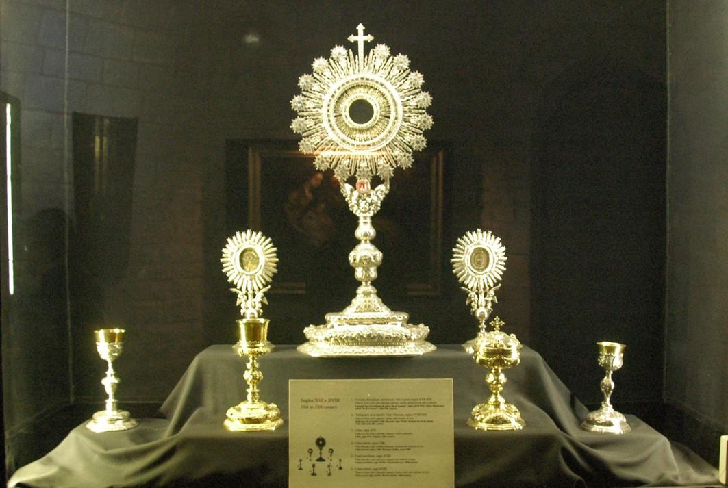 Custòdia del Carme del tresor de la Basílica de Santa Maria del Pi