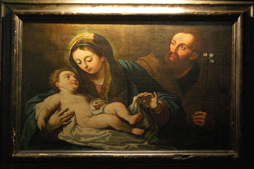 La Sagrada Família de la Basílica de Santa Maria del Pi