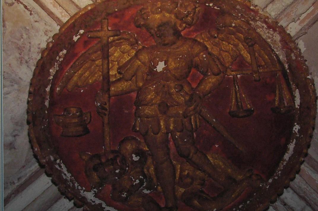 Medallons de l'exposició de Santa Maria del Pi