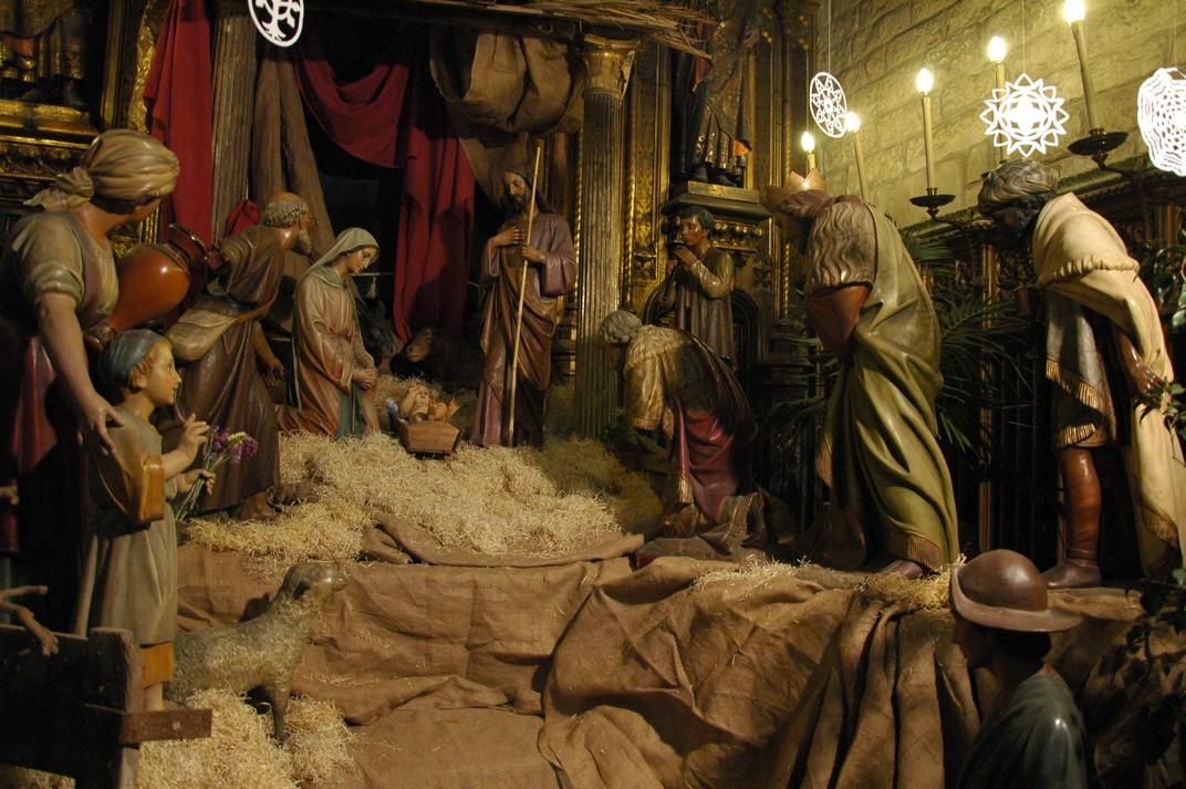 Pessebre clàssic de la Basílica de Santa Maria del Pi