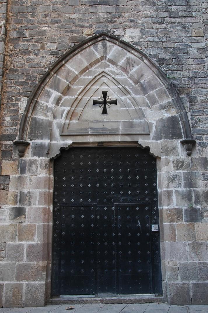 Porta de l'absis de Santa Maria del Pi