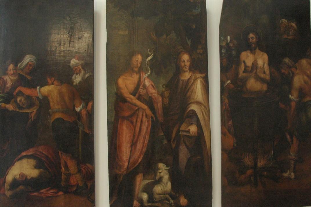 Quadres de l'exposició de Santa Maria del Pi
