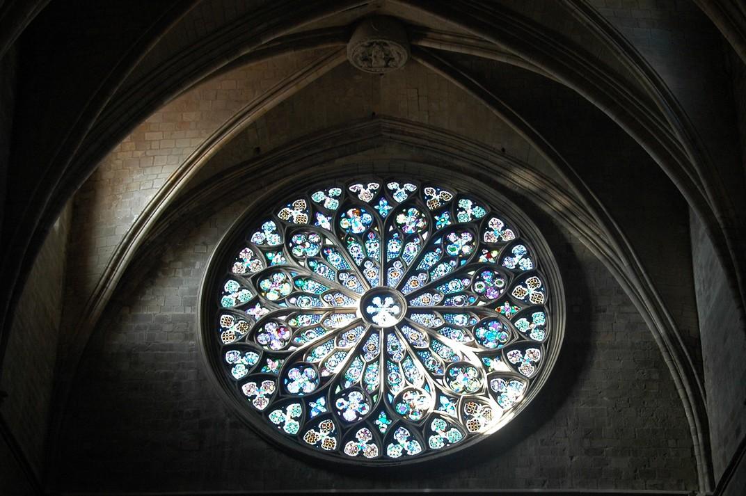 Rosassa de la Basílica de Santa Maria del Pi