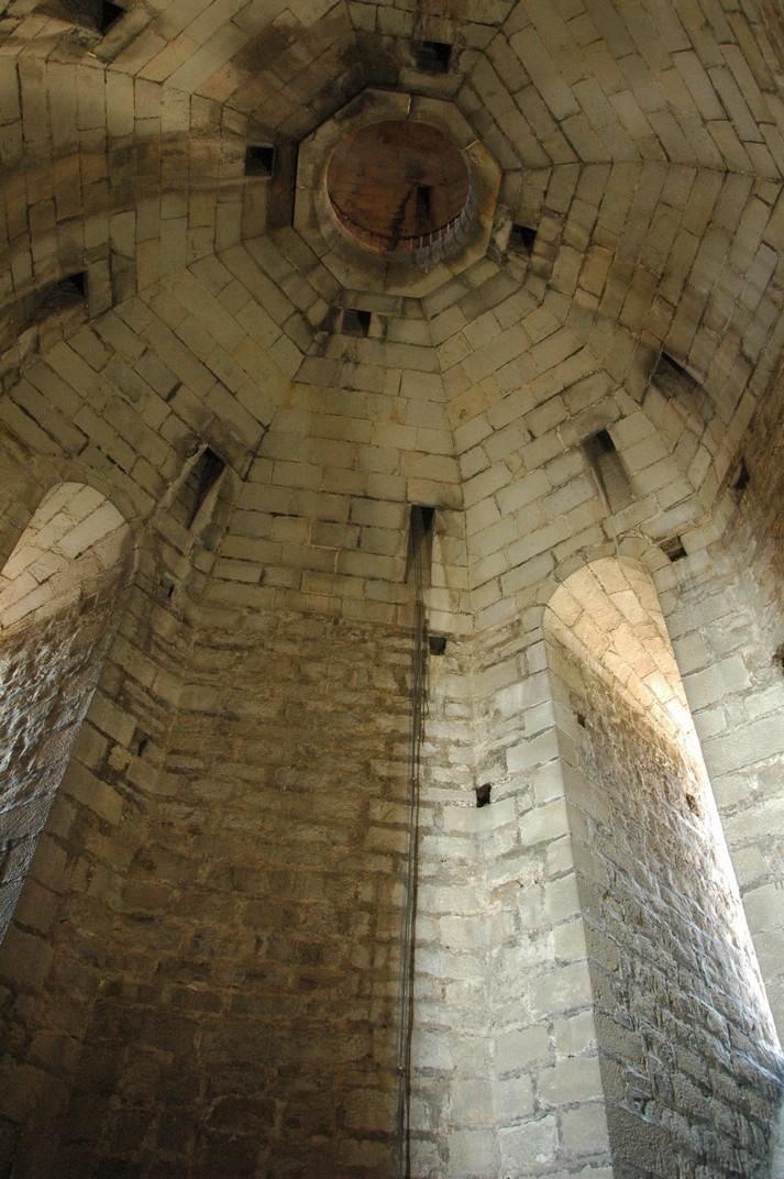 Sostre del campanar de Santa Maria del Pi