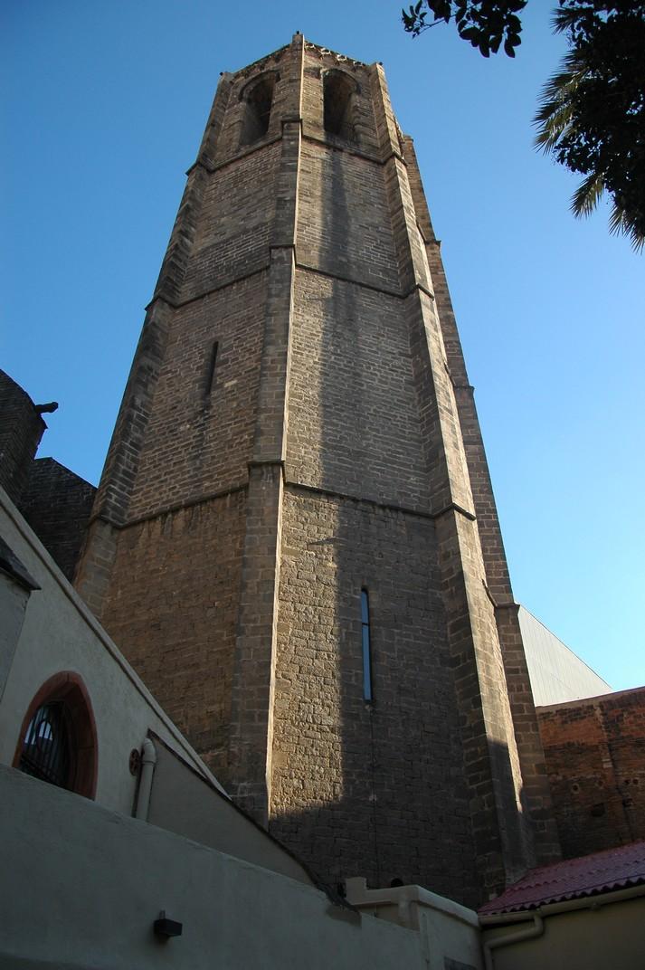 Torre del campanar de Santa Maria del Pi
