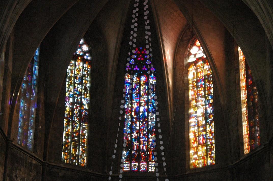 Vitralls de la Basílica de Santa Maria del Pi