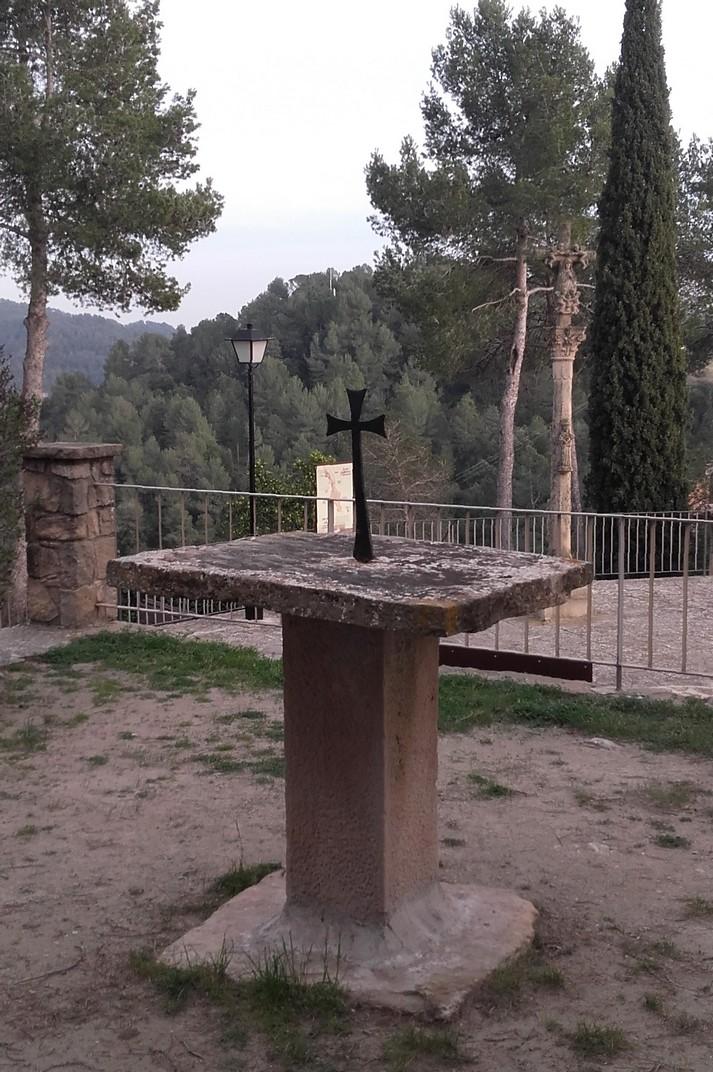 Creu de terme de Talamanca de les Valls del Montcau