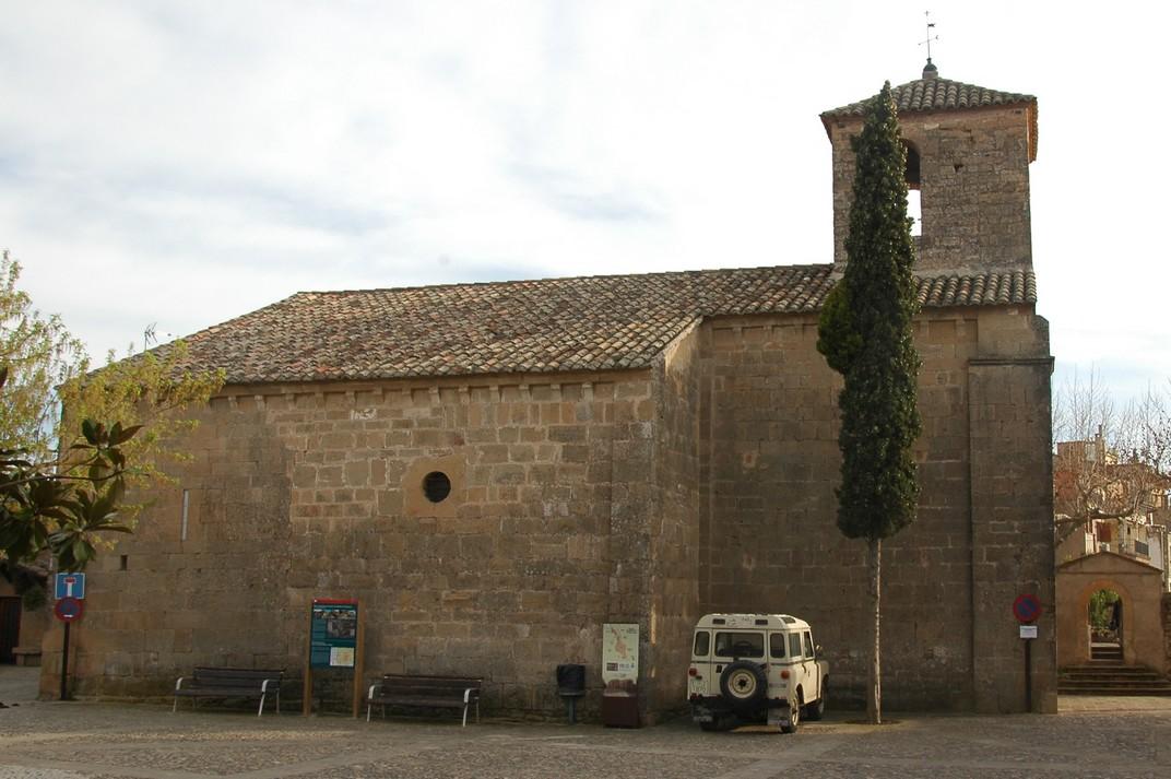Església de Santa Maria de Talamanca de les Valls del Montcau