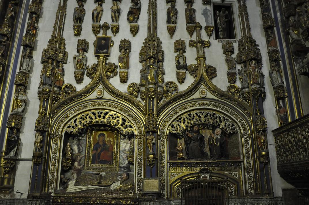 Sepulcres de la Capella Daurada de la Catedral Nova de Salamanca