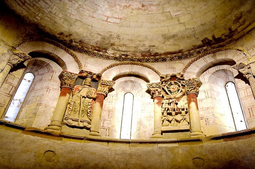 Absis de l'església de Santiago de Turégano de Segòvia