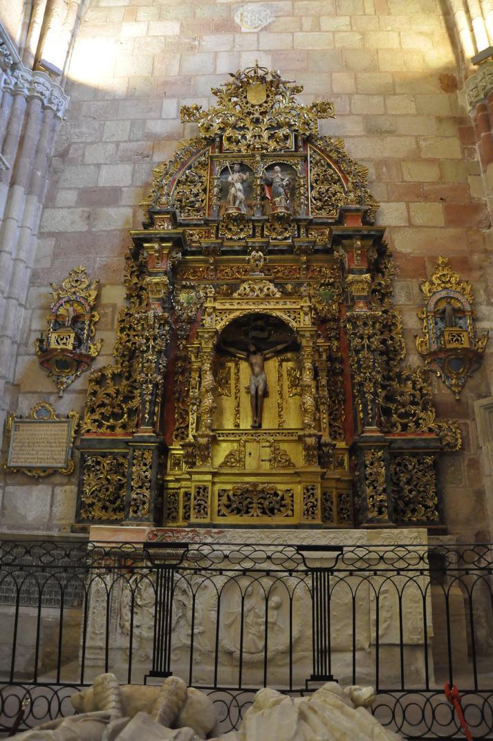 Altar de la Capella del Doncel de la Catedral de Sigüenza de Castella - La Manxa