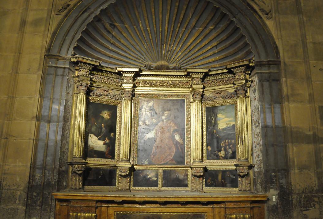 Altar de Sant Felip Neri de la Catedral de Sigüenza de Castella - La Manxa