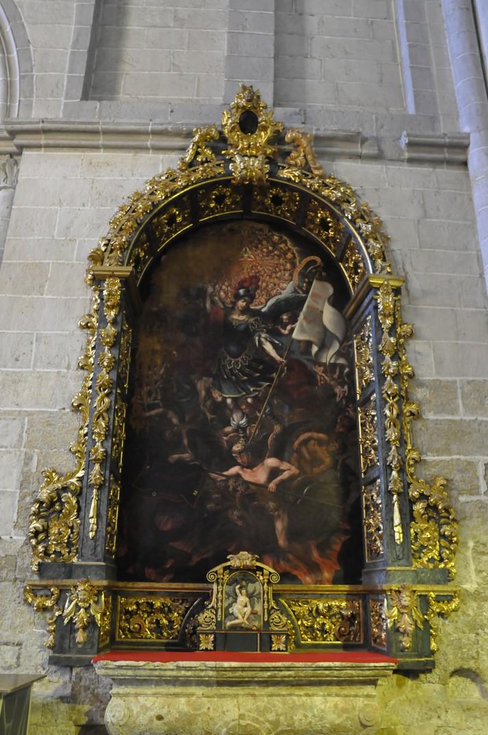 Altar de Sant Miquel de la Catedral de Ciudad Rodrigo de Salamanca