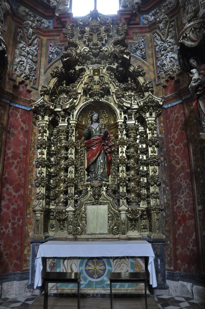 Altar de Sant Pere del Monestir de Santa Maria d'El Paular de Madrid