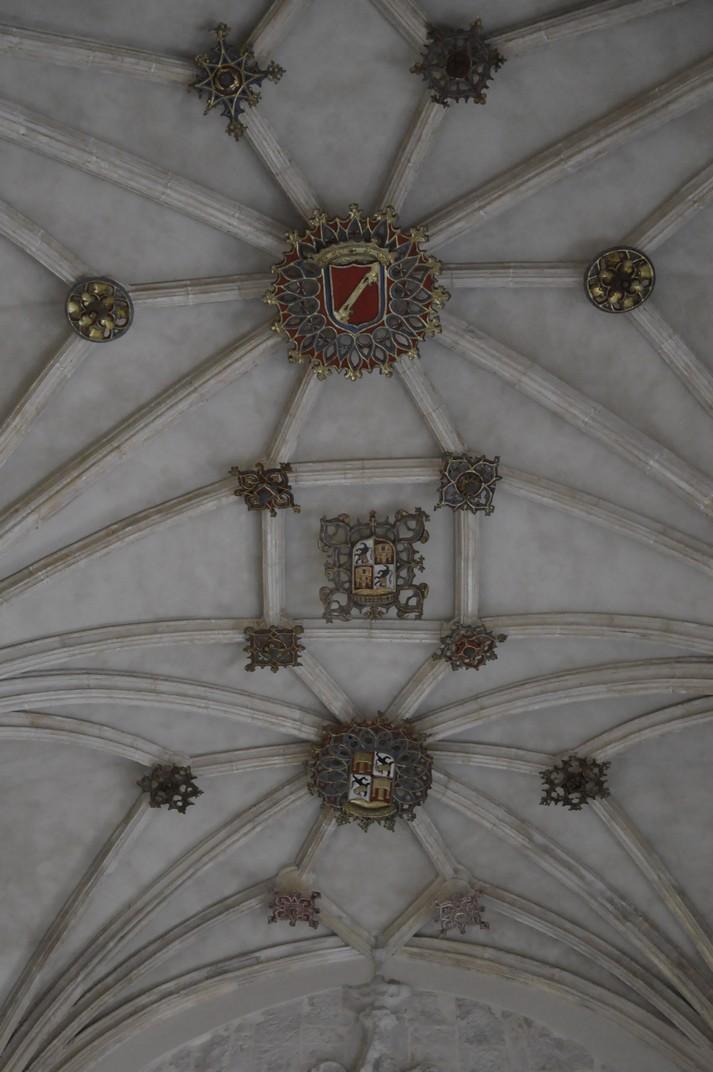 Arcs de creueria de l'atri del Monestir de Santa Maria d'El Paular de Madrid