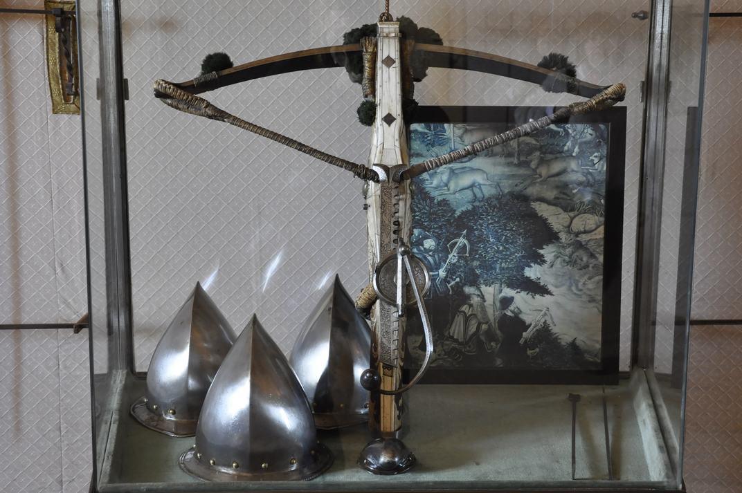 Armes i cascos de l'Alcàsser de Segòvia