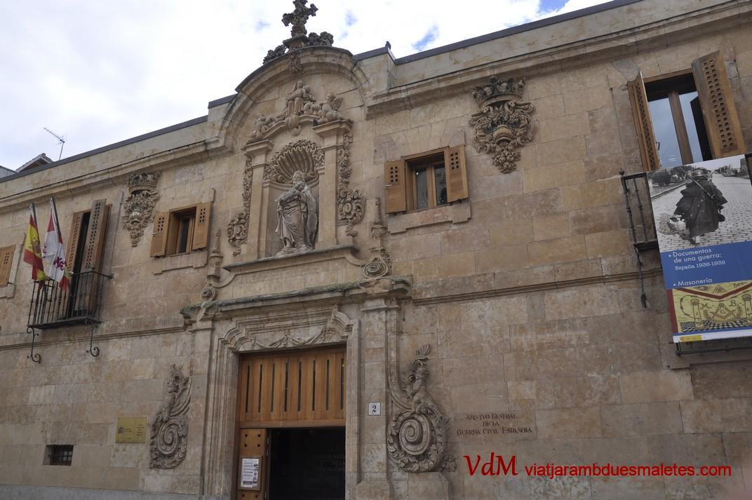 Arxiu General de la Guerra Civil espanyola de la Ciutat de Salamanca