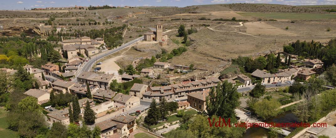 Barri de Sant Marc i església de la Vera Cruz de Segòvia