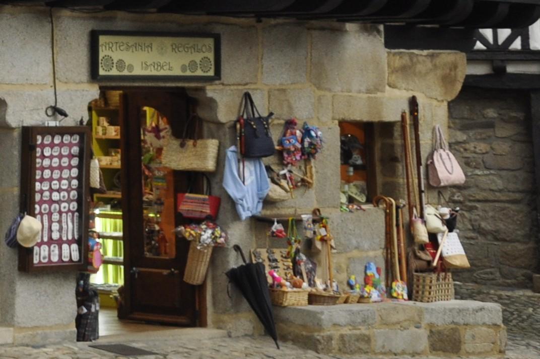 Botiga d'artesania de La Alberca de Salamanca