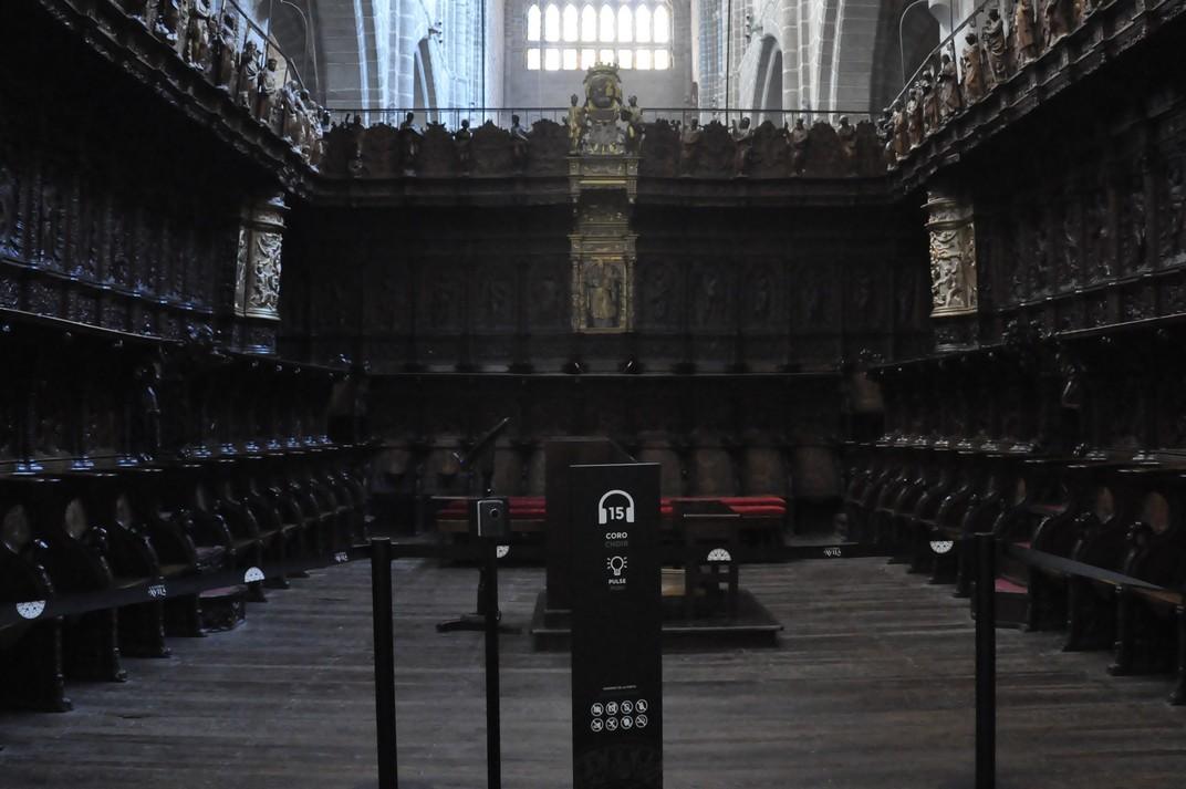 Cadirat del Cor de la Catedral d'Àvila