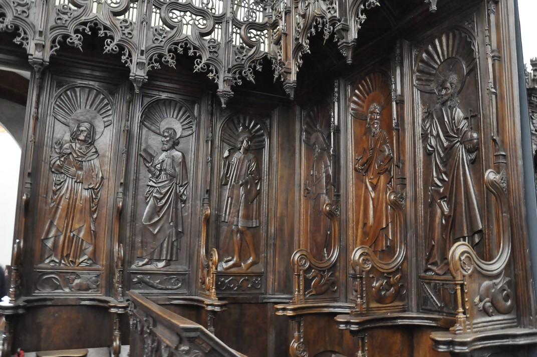 Cadirat del Cor del Monestir de Santa Maria d'El Paular de Madrid