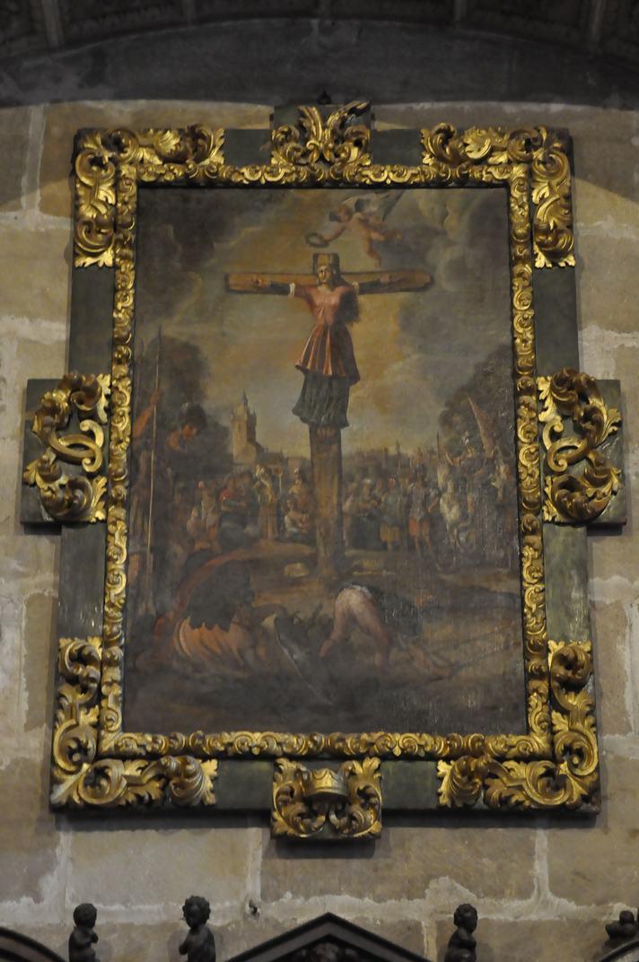Calvari de la Sagristia de la Catedral de Sigüenza de Castella - La Manxa