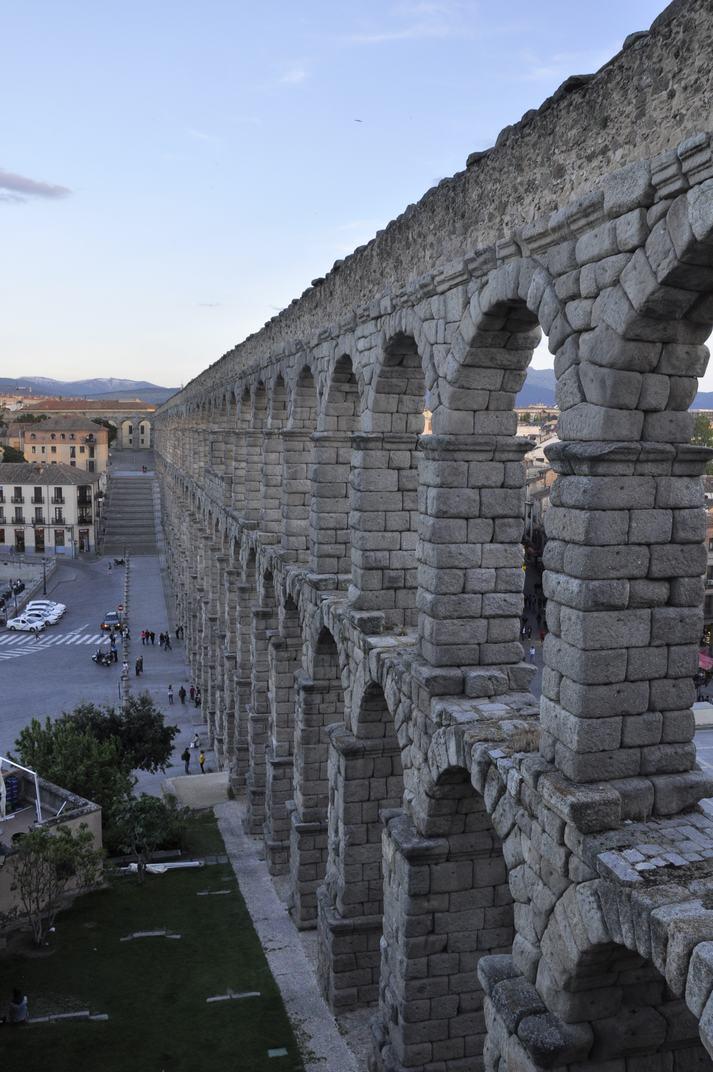 Canalització de l'Aqüeducte de Segòvia