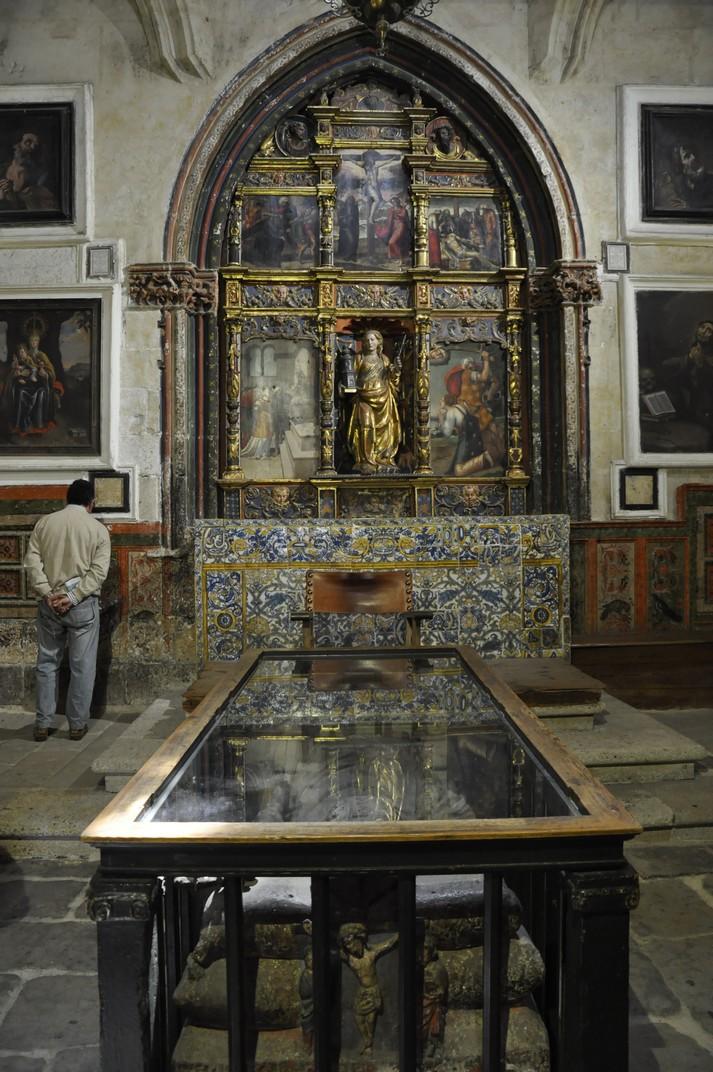 Capella de Santa Bàrbara de la Catedral Vella de Salamanca
