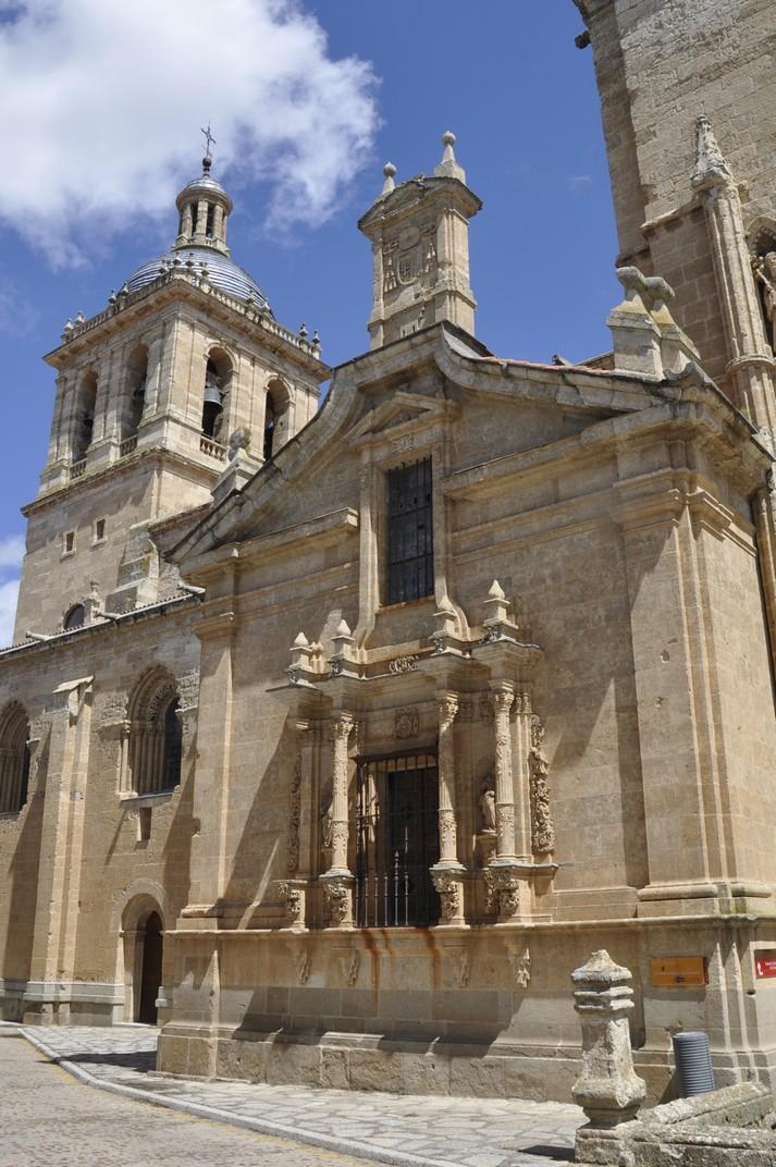 Capella del Pilar de la Catedral de Ciudad Rodrigo de Salamanca