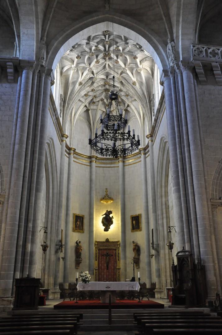 Capella Major de la Catedral de Ciudad Rodrigo de Salamanca
