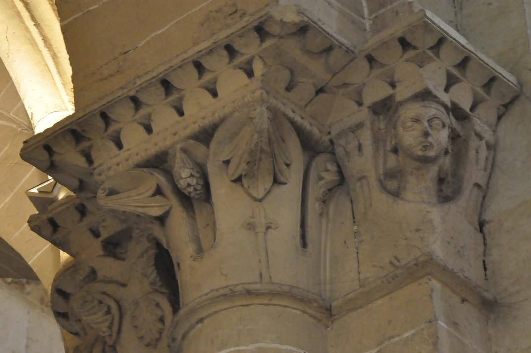 Capitells de la Catedral Vella de Salamanca