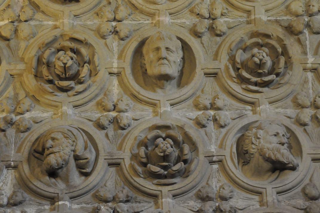 Caps de la Sagristia de la Catedral de Sigüenza de Castella - La Manxa
