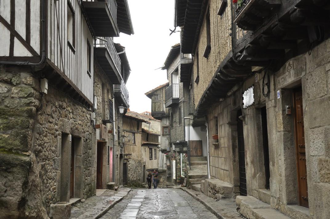 Carrer el Tablao de La Alberca de Salamanca