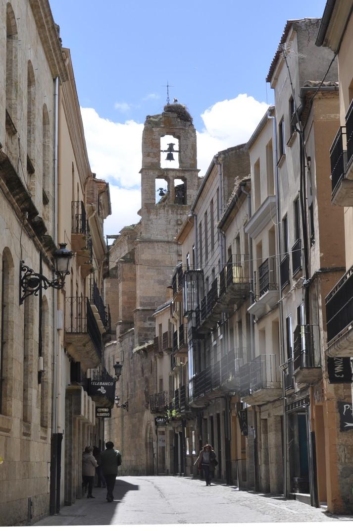 Carrers de Ciudad Rodrigo de Salamanca