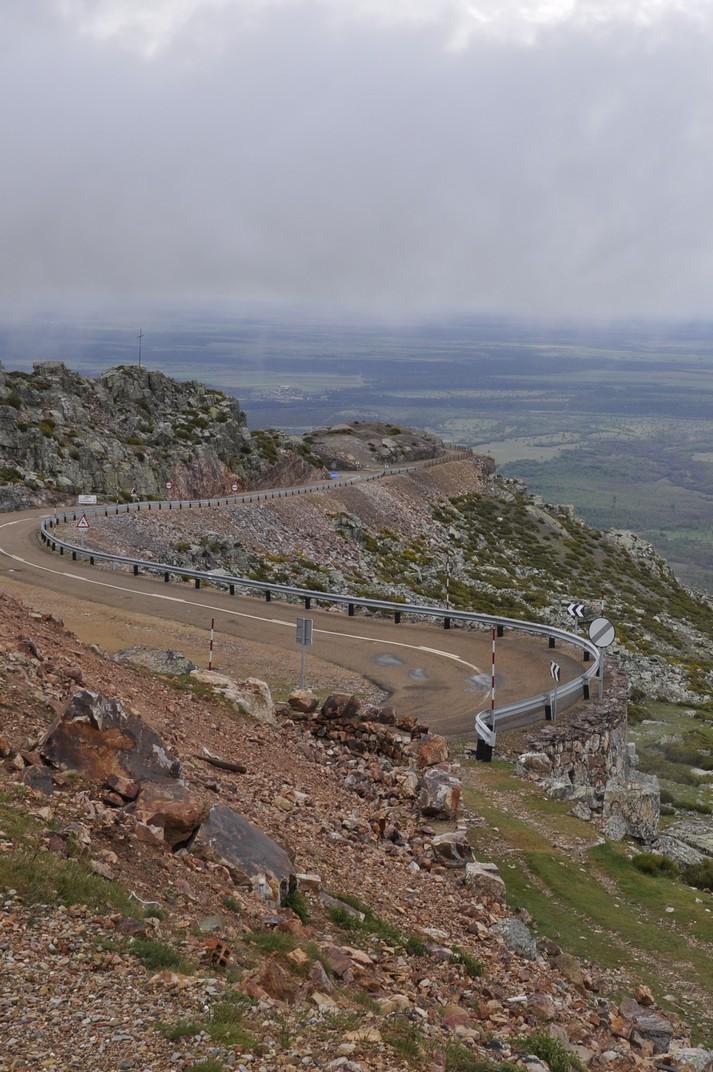 Carretera del Santuari de la Peña de Francia de Salamanca