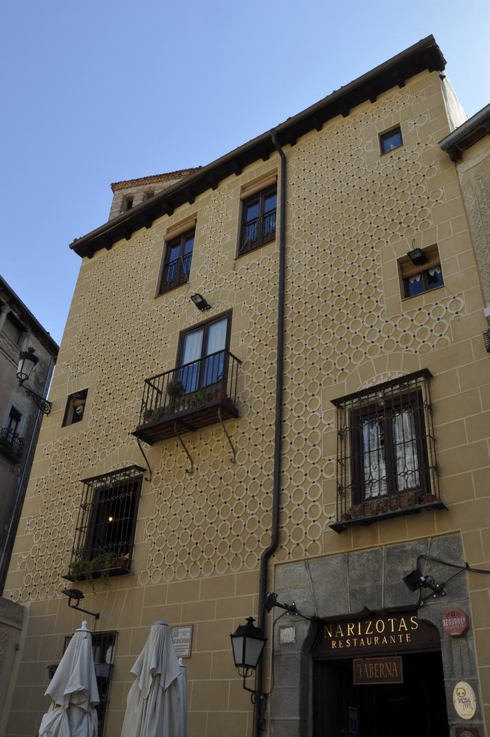 Casa de la plaça Juan Bravo de Segòvia