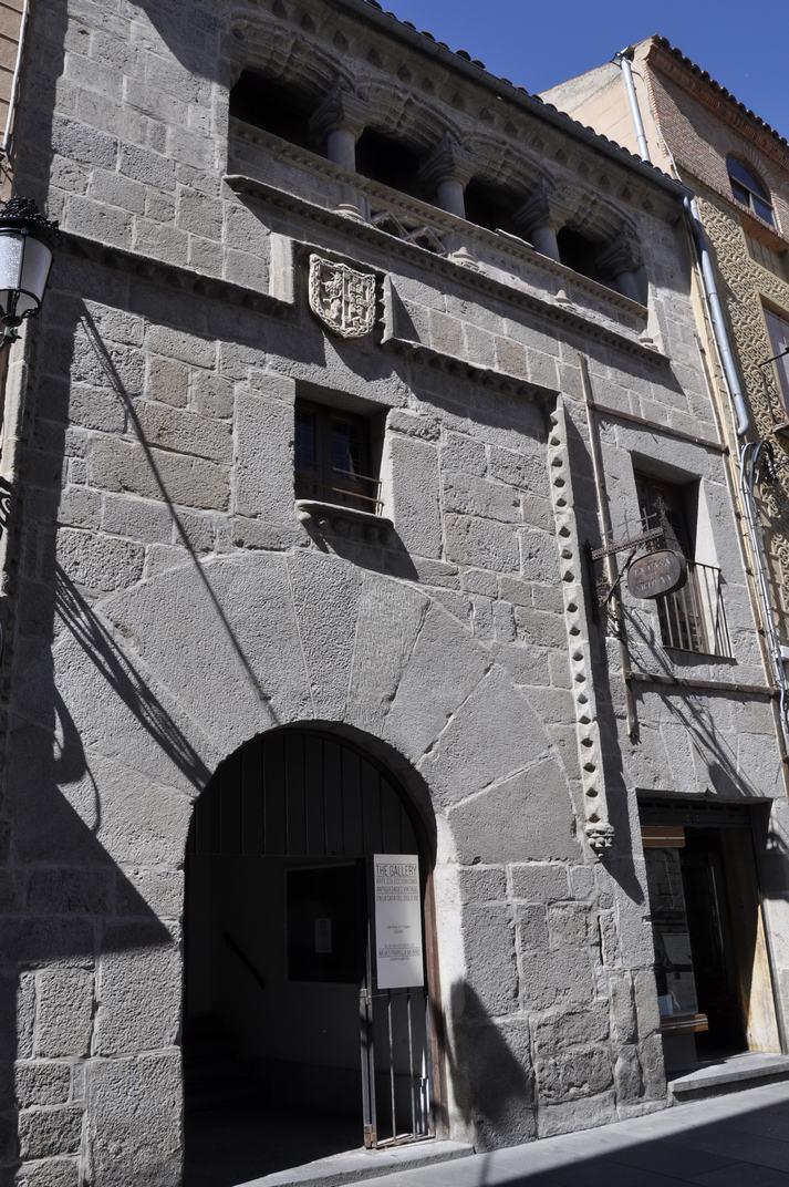 Casa del segle XVI de la plaça Juan Bravo de Segòvia