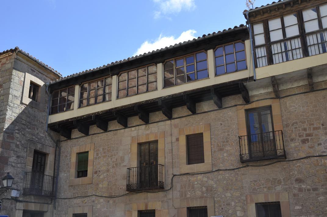 Casa senyorial de la Plaça Major de Sigüenza de Castella-La Manxa