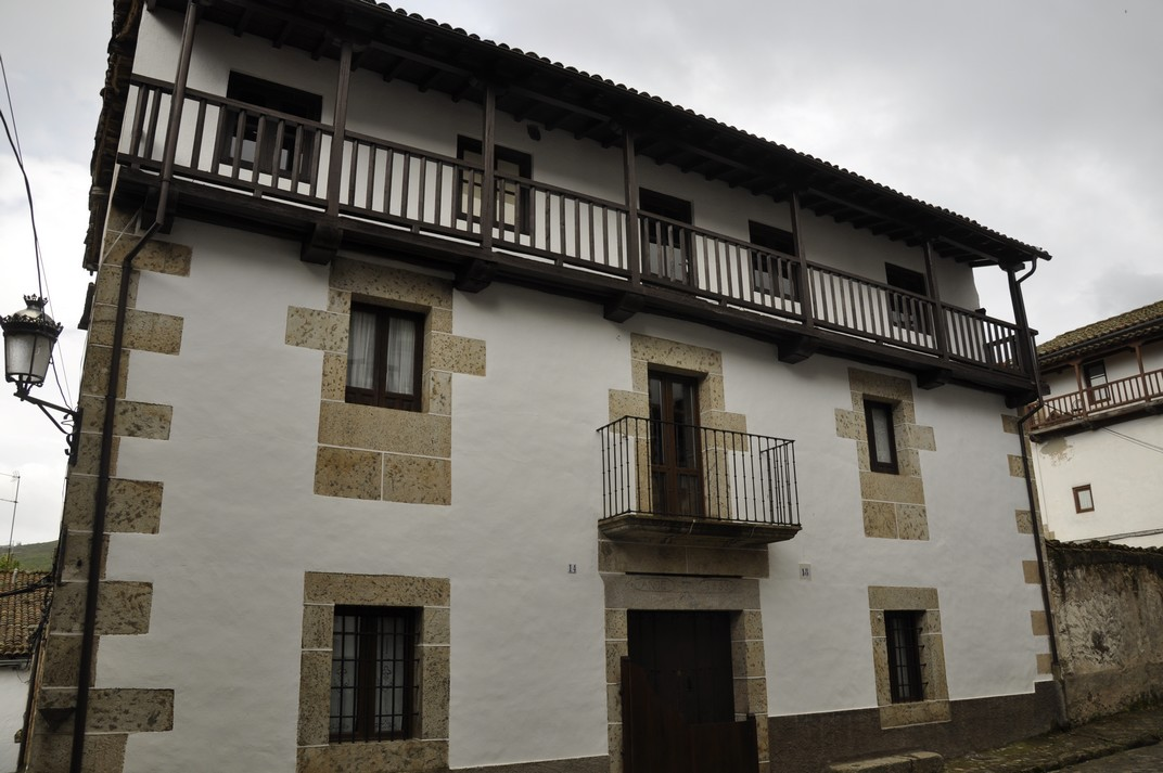 Casa típica de Candelario