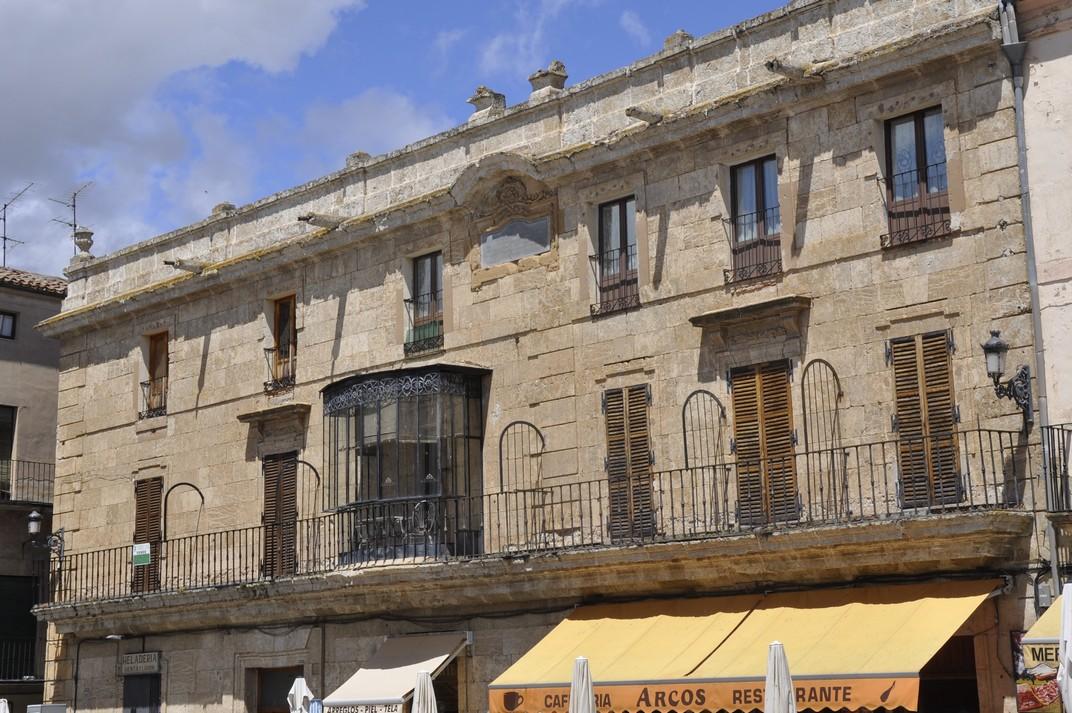 Cases senyorials de la Plaça Major de Ciudad Rodrigo de Salamanca