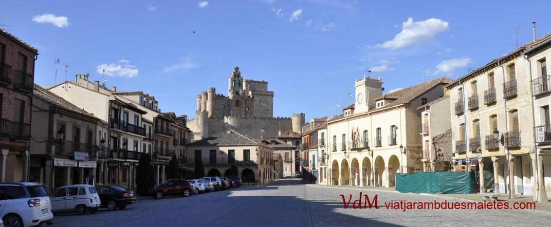 Castell i Plaça Major de Turégano de Segóvia