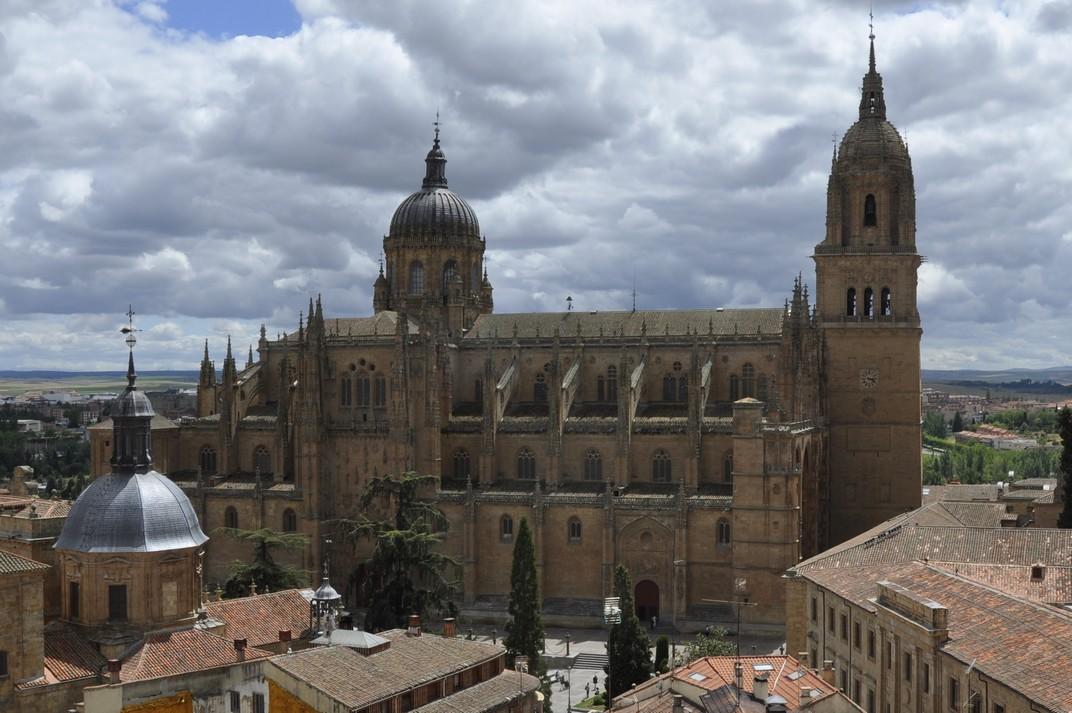 Catedral Nova des de la Clerecia de Salamanca
