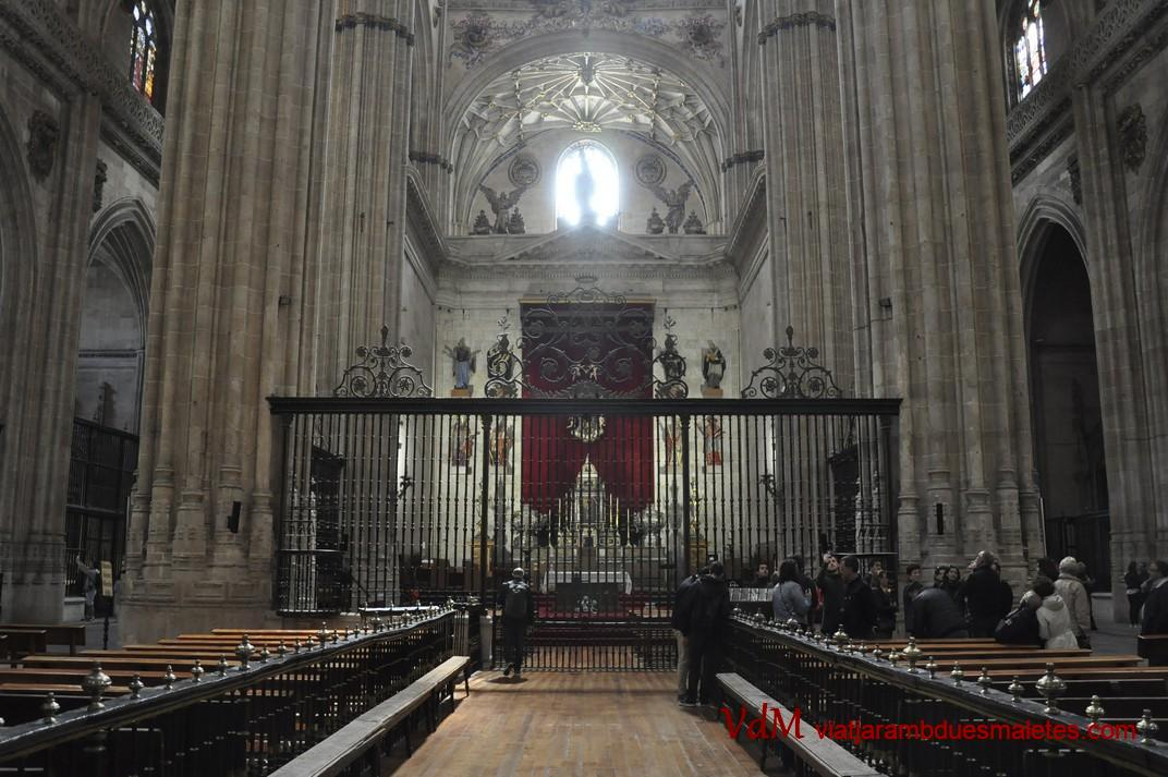 Catedral Nova - Nau central - de Salamanca