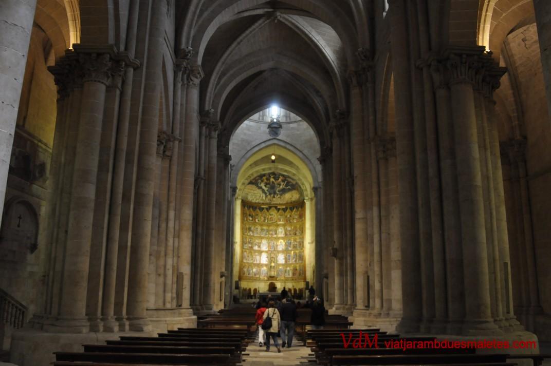 Catedral Vella - Nau central - de Salamanca